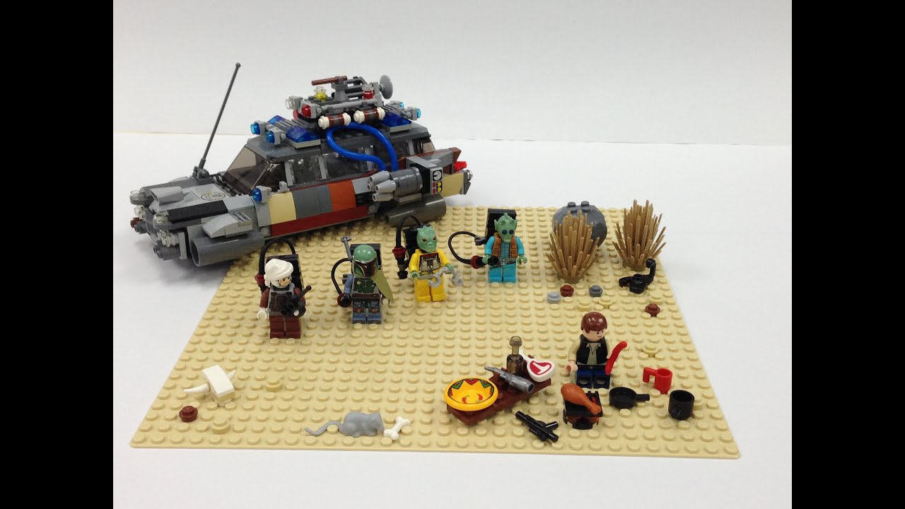 Lego Star Wars Han Solo S Last Supper Moc Youtube