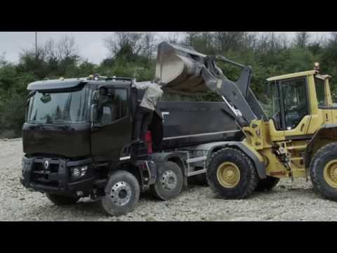 Renault Trucks K - Heavy construction range - Gamme construction lourde