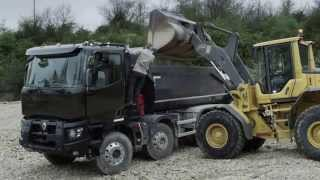 Renault Trucks K - Heavy construction range - Gamme construction lourde
