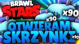 OTWIERAM SKRZYNKI  BRAWL STARS POLSKA OPENING (odc.61)