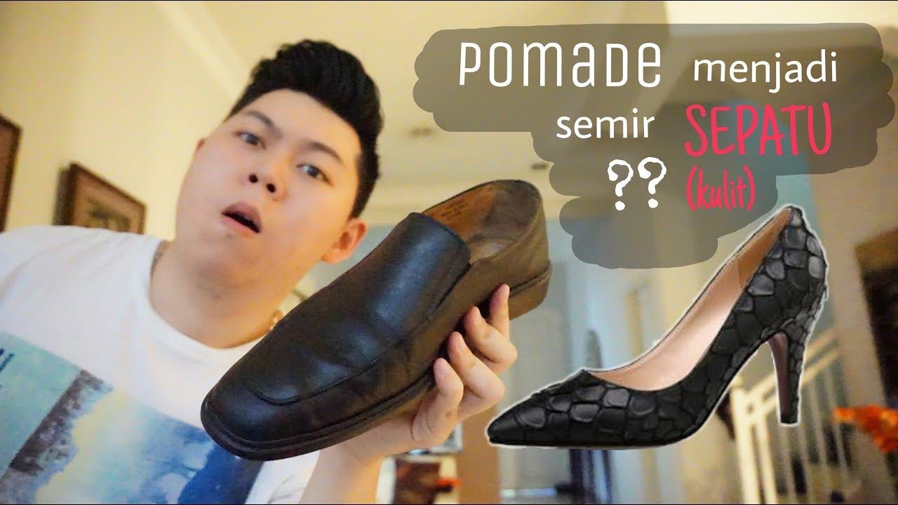 Pomade Jadi Semir Sepatu Kulit Pria Dan Wanita Indonesia Youtube Rc137