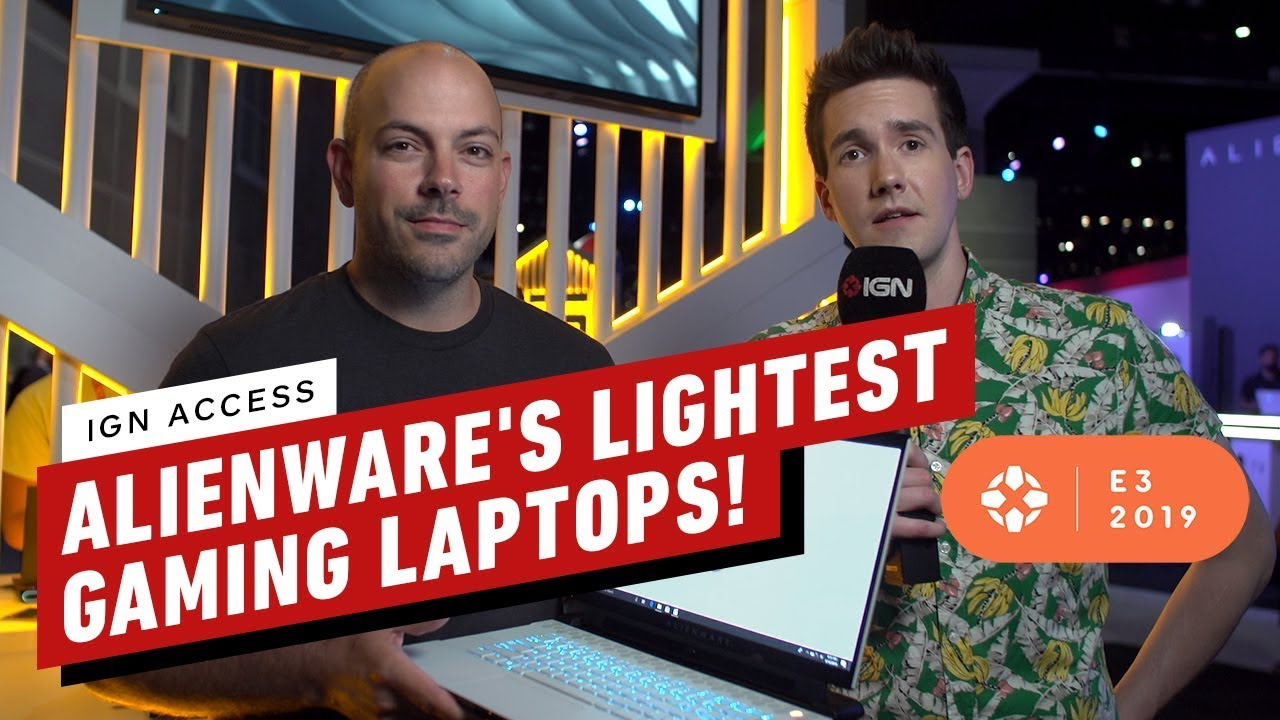 94b1ba4c04c Alienware's Lightest Gaming Laptops EVER - IGN Access - YouTube