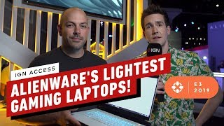 alienwares lightest gaming laptops ever ign access