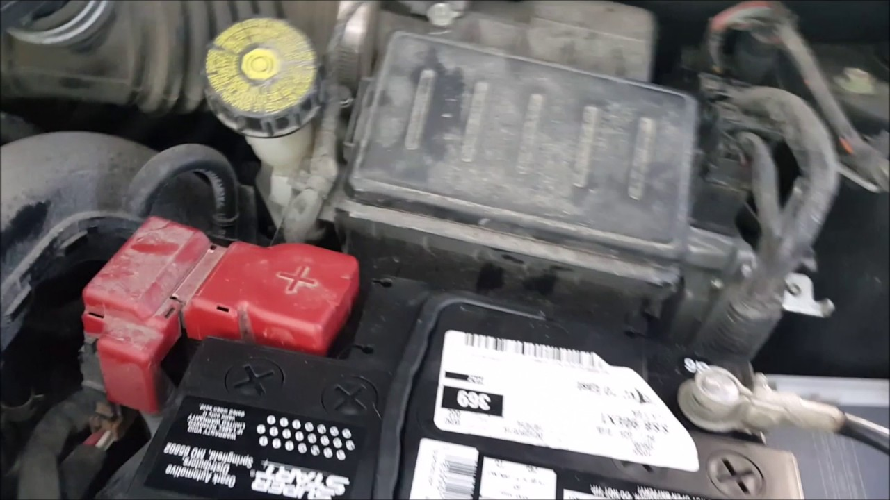 hight resolution of changing a car battery on a 2012 nissan versa