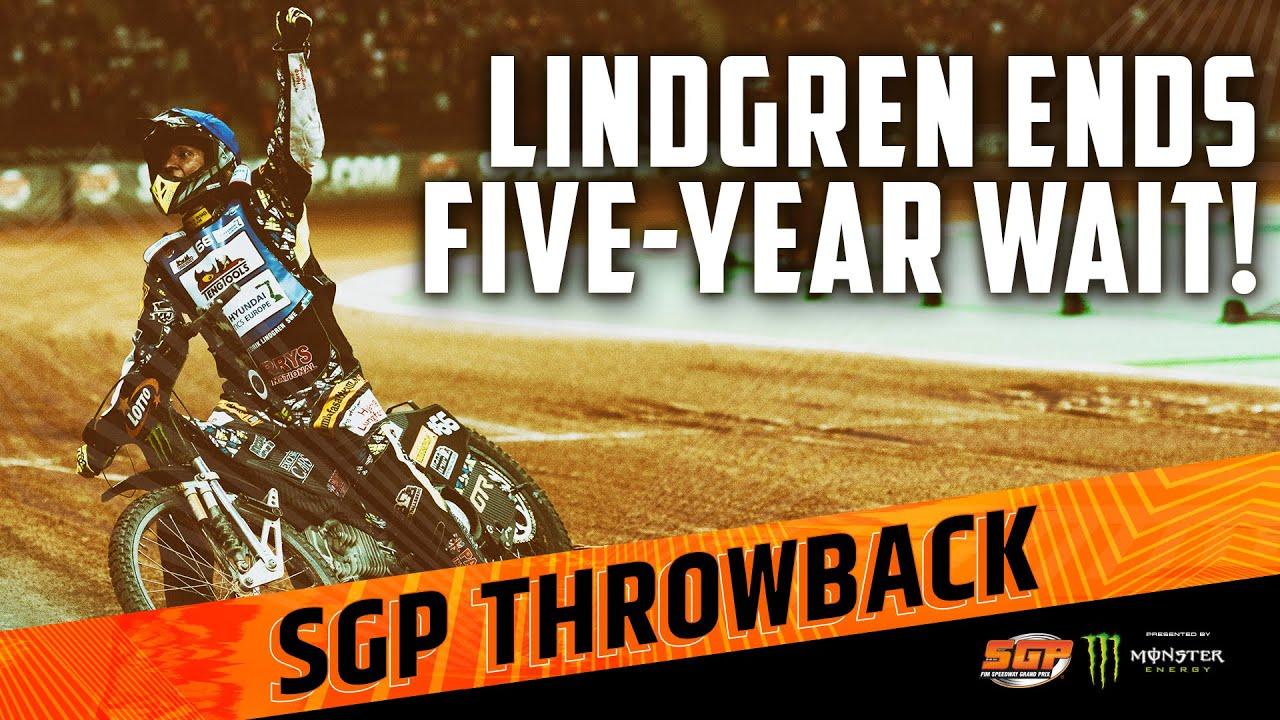 FREDDIE LINDGREN ENDS FIVE-YEAR WAIT! | FIM Speedway Grand Prix