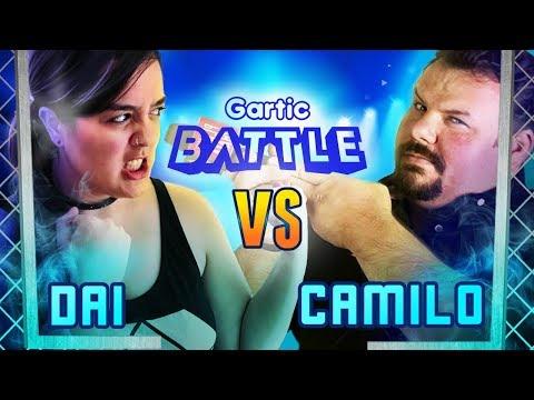 Dai VS Camilo Coutinho - #GarticBattle
