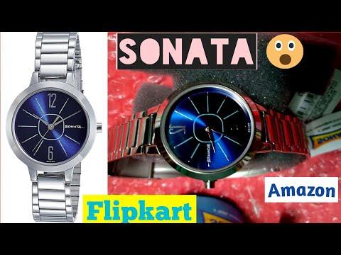 Sonata Watch || Flipkart Watch Unboxing And Review || Ladies Wrist Watch || Titan Watches Women