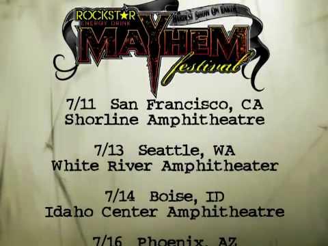 Rockstar Energy Drink Mayhem Festival 2010