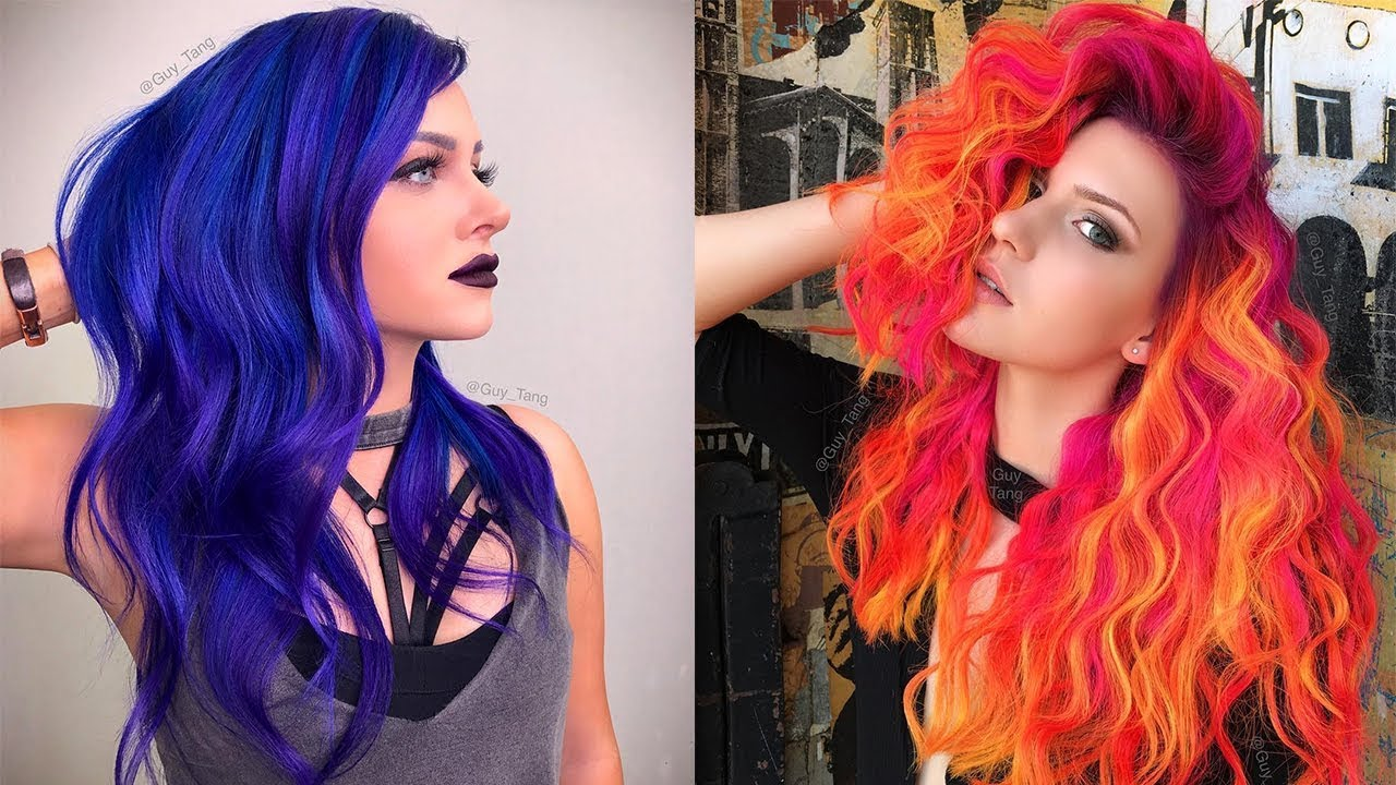 The Best Hair Transformations Compilation Amazing Hairstyles By