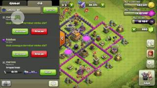 Farm elixir negro(Dark) cv7-Clash Of Clans.