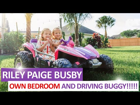 WATCH!!! 'OutDaughtered': Riley Paige Busby Have OWN BEDROOM And DRIVING Buggy With Olivia!!!
