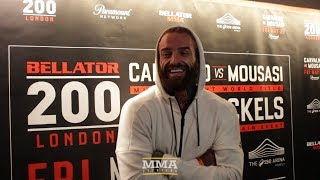 Bellator 200: Aaron Chalmers Says Ash Griffiths 'Woke The Animal Up' With First-Round Knee