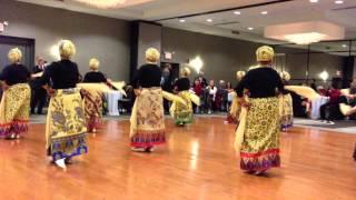 Maranao Dance 1st Part - PASAR Dec 2012