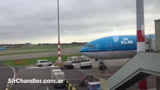 KLM Buenos Aires Amsterdam - 777 - Full Flight Experience