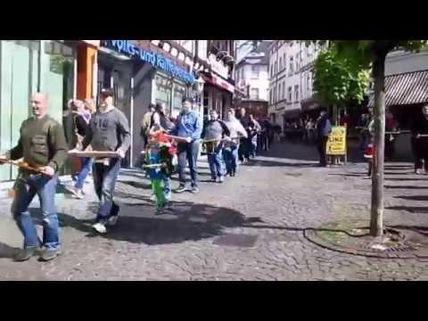 Klapperjungen in Linz am Rhein