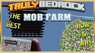 Truly Bedrock S1 EP17 Mob Farming with Foxynotail Minecraft Bedrock Edition MCPE, MCBE