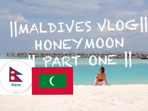 MALDIVES TRAVEL VLOG || Honeymoon || Part 1