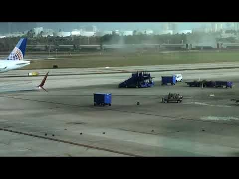 Tornado at Ft Lauderdale Airport, Florida