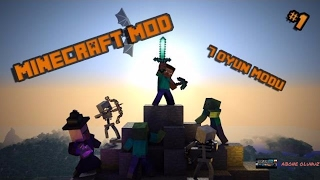 Minecraft En Gerekli 7 Oyun modu