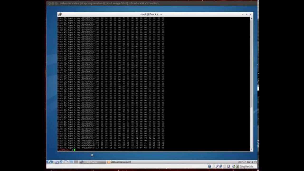 NFC Mifare 1k Card read/hack keys (default) - nfctools und mfoc Teil1