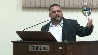 27ª Sessão Ordinária - Vereador Walmir Chaveiro