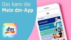 """Das kann die """"Mein dm-App"""" – Coupons, Shopping im smarten Taschenformat und mehr"""