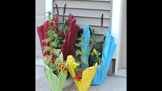 вазоны для цветов своими руками (кашпо). Утаенная жизнь