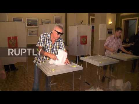 Russia: Crimea participates in State Duma elections for the first time