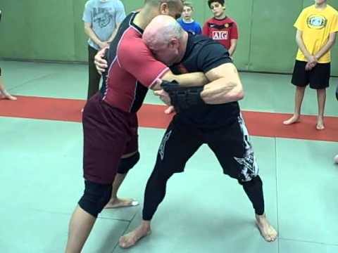 Anthony Camal of Camal Judo Demonstrates No Gi Throw Uchi Mata into Pin 2  of 3