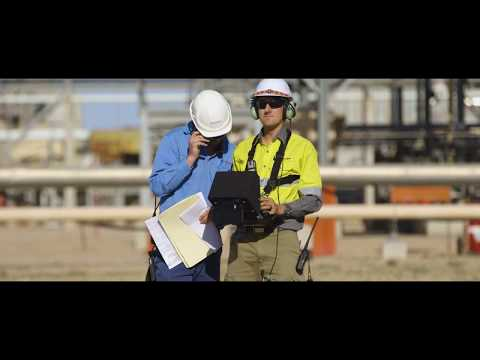 Intel Drone Captures Data for 3-D Models at Oil and Gas Facilities