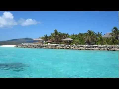 Necker Island from the Sea
