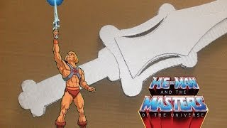 Homemade He-Man & The Masters of the Universe Power Sword