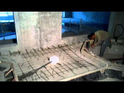 Superieur Construction Du0027un Jacuzzi En Beton   YouTube
