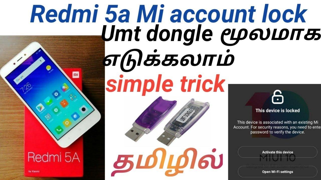 Redmi 5a Mi Account Remove Umt