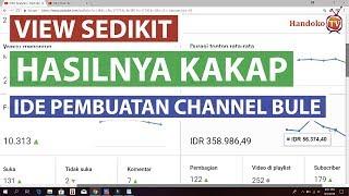 Sedikit View Berpenghasilan Besar - Review Channel Dan ide Untuk Channel Bule