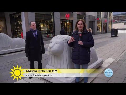 """Nya lejon på Drottninggatan: """"Vi står enade mot terrorism"""" - Nyhetsmorgon (TV4)"""