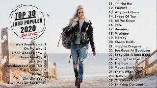 Download Lagu Populer 2020 - #WFH Dance Monkey, Yummy, Work From Home - DMG Lyrics