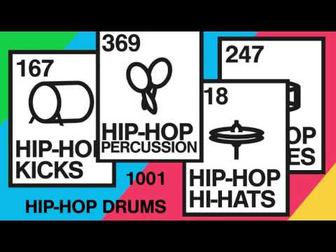 1001 Hip Hop Drum Pack — pATCHES