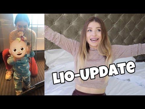 Lio - Update : Er kann schon stehen 😍👶🏼 | Bibi