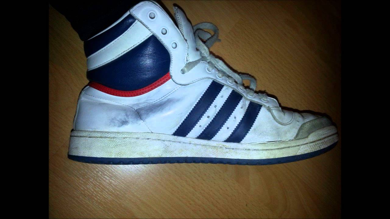2874f69b7acf adidas top ten 2 worn and used pair - YouTube