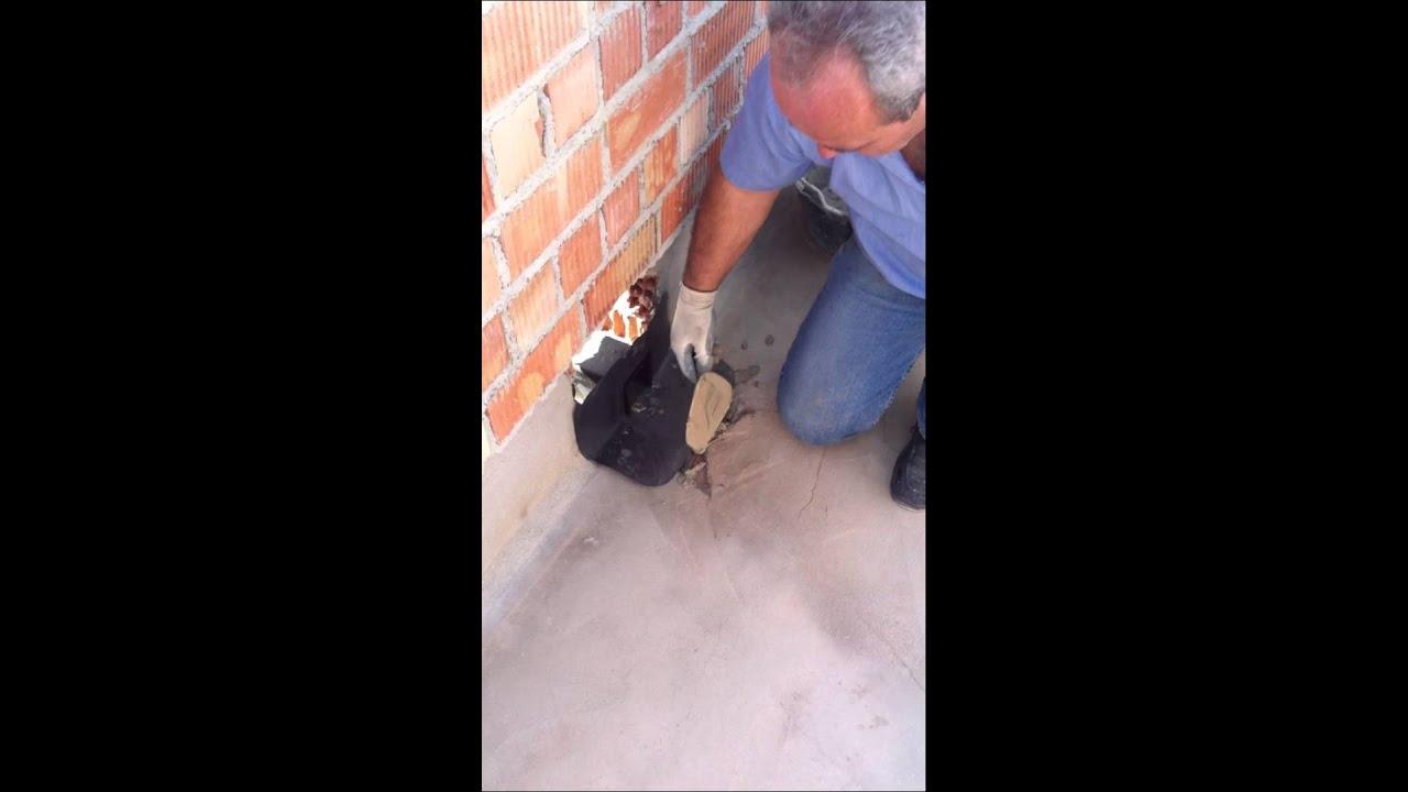Preparar sumideros con cemento rpido de calidadtipo