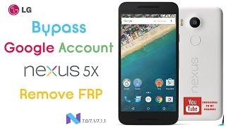 Nexus 6P FRP Bypass Nougat 7.0 7.1 7.1.1 October 5 2016 Security Patch