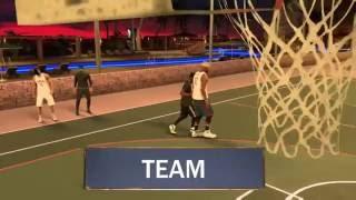NBA 2K17 Gameplay ( Invisible Man Glitch )