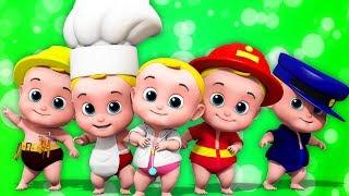 Lima Bayi Kecil | Lagu Anak | melompat di tempat tidur | Five Little Babies | Kids Tv Indonesia