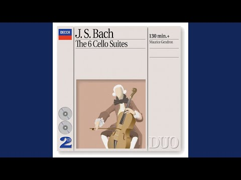 J.S. Bach: Suite for Solo Cello No. 1 in G Major, BWV 1007 - 1. Prélude