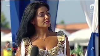 Provocare pentru Elena Ionescu! Artista recurge la miscari senzuale ca sa castige proba