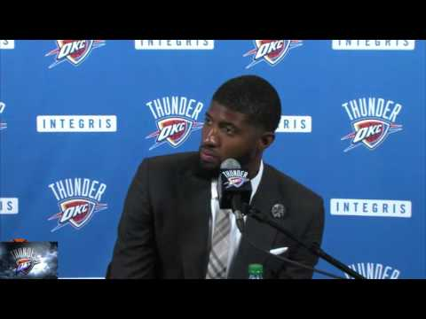 Paul George Interview In OKC Thunder - NBA Free Agency