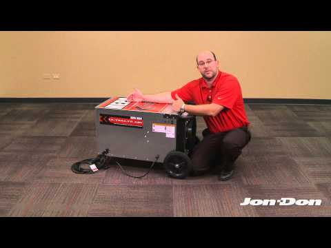 HEPA 1000 Air Scrubber Demo/Review - Jon-Don Video