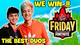 Ninja & SEN Bugha Destroyed FaZe Replays & Nick Eh 30 in Fortnite Friday Season X