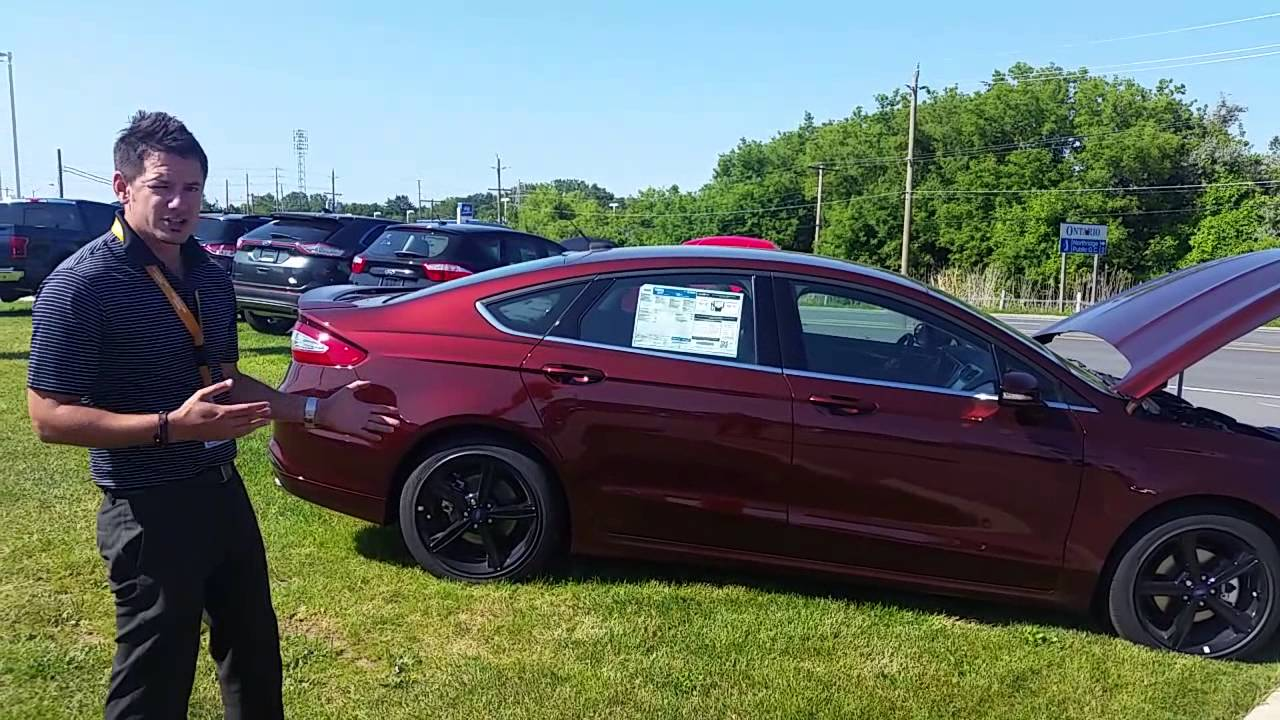2016 Ford Fusion In Bronze Fire